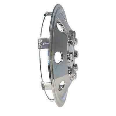 "Fiat Ducato Motorhome 15"" Chrome Van Wheel Trims- American Style - Hub Caps X 4 2"