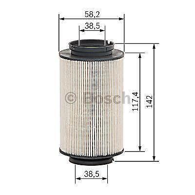 Filtro De Combustible Bosch N0008-VW Eos//Mk6 Golf//Passat B6 B7-1.6 1.9 /& 2.0 TDI