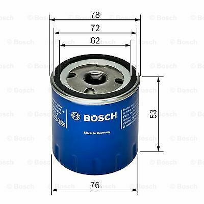 Fits Nissan Qashqai Genuine Bosch Screw On Oil Filter