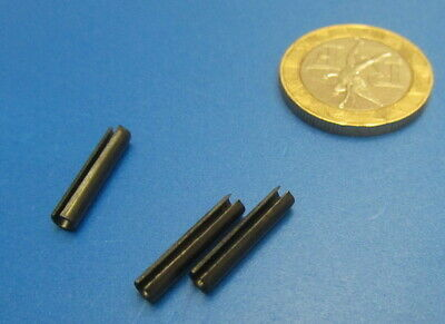 Steel Metric Slotted Spring Pin, M3 Dia x 16 mm Length, 200 pcs 11