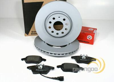 VW Tiguan 1,4-TSI Zimmermann komplett Set Bremsscheiben Bremsbeläge 5N/_