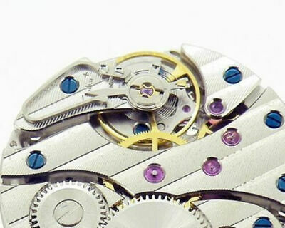 Seagull ST 3600 Replace Eta 6497 Winding Movement  Sweep S at 6 Stem at 12 New