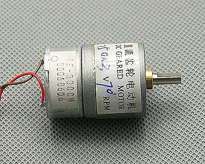 6V DC 0.5A 25GA 20RPM 500mA High Torque Electric Gear Box Motor 25MM 2KG.CM