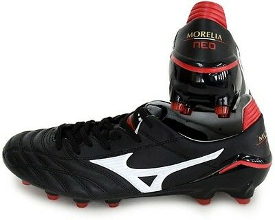 Mizuno MORELIA Neo 2 Football Shoes P1GA165 White Kangaroo leather Made in Japan