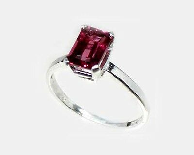 "19thC Antique 1¼ct Handcrafted Norway Rhodolite Bohemian Gypsy ""Cape Ruby"" Ring 3"