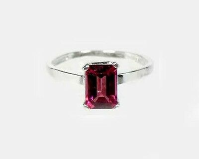 "19thC Antique 1¼ct Handcrafted Norway Rhodolite Bohemian Gypsy ""Cape Ruby"" Ring 4"