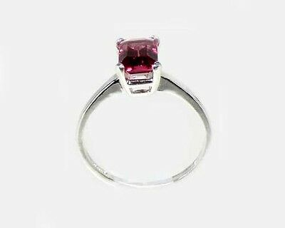 "19thC Antique 1¼ct Handcrafted Norway Rhodolite Bohemian Gypsy ""Cape Ruby"" Ring 6"