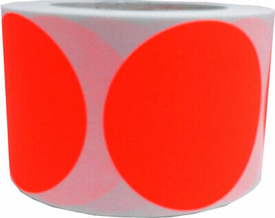 Circle Dot Stickers, 3 Inches Round, 500 Labels on a Roll, 39 Color Choices 2