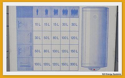 120 liter l waagerecht liegend horizontal elektro warmwasserspeicher boiler eur 255 00. Black Bedroom Furniture Sets. Home Design Ideas