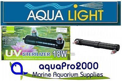 AquaLight 18w UV-C Wasserklärer Teichklärer Vorklärgerät UVC GERÄT