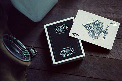 Prohibition Series White Wolf Vodka Playing Cards Poker Spielkarten Playing Cards 800battery Toys Hobbies