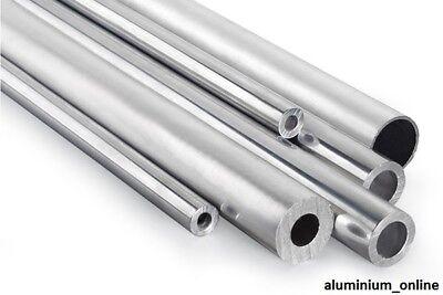 ALUMINIUM ROUND TUBE METRIC 48mm 50mm 55mm 60mm 65mm 3