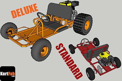 Go Kart Plans: Two Versions PDF Plan Bundle, Go Kart Build: Two Seat Go Kart 3