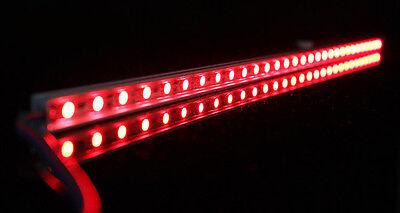 RGB Aluminium Aquarium Teichfische LED Beleuchtung  Lampe Strip Leiste Netzteil 2