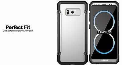 For Samsung Galaxy S8+ Plus Case Hybrid TPU ShockProof Protective Rugged Cover 6