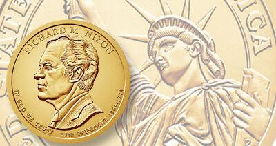 2016 P&D Presidential One Dollar Coin Reagan Gerald Ford Nixon Coins U.S. Mint 3