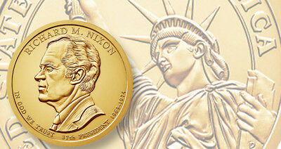 2016 P&D Presidential One Dollar Coins Nixon Ford Reagan U.S. Mint Coins Money 3