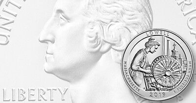 2019 P,D,S Lowell National Historical Park Quarter (MA) **ON HAND** **ON HAND** 2