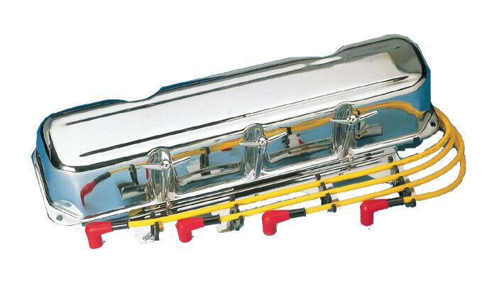 """4x Ventildeckel Schrauben 1/4""""x20 Chevrolet One-Fifty Twi Ten Bel-Air Chrom"""