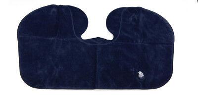 2x Portable Inflatable U Shaped Travel Neck Pillow Car Flight Head Rest Cushion