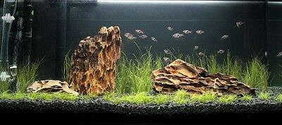 NATURAL BLACK AQUARIUM SUBSTRATE(SAND - GRAVEL 2-5mm) IDEAL FOR PLANTS 12