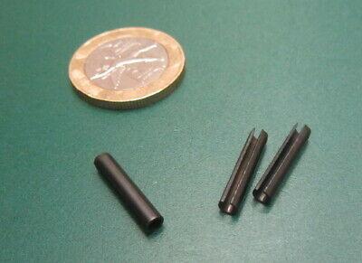 Steel Metric Slotted Spring Pin, M3 Dia x 16 mm Length, 200 pcs 12