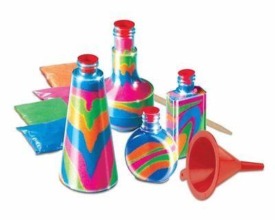 New Kids Bottle Sand Art Craft Diy Activity Toy Game Set Make Your Own Kit Hobby 2