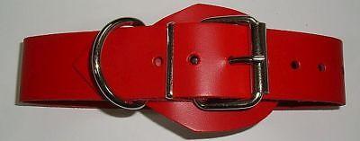 BDSM Lederriemen zusätzlicher D-Ring 5,0 cm mit Klemmschutz zweidrittel-Lochung 4