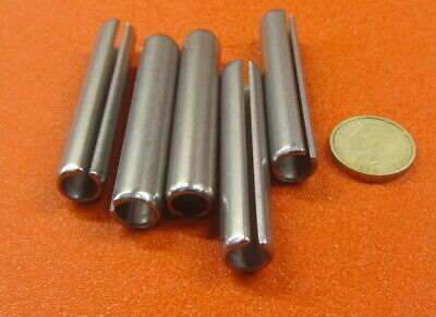 """420 Stainless Steel, Slotted Roll Spring Pin, 1/2"""" Dia x 2 3/4"""" Length, 5 pcs 3"""