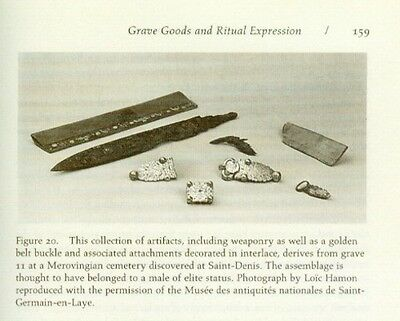 Medieval Merovingian Frank Gaul Celt Mortuary Archaeology Jewelry Clothes Weapon 8