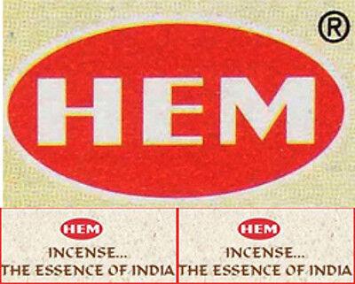 Hem GR SAC Incense Hex Box 20 Sticks: Mix & Match BUY 7 GET 5 FREE! (12 in Cart)