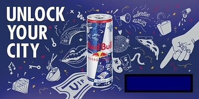 2019 Promo Full Can Unlock Your City With Red Bull Keys To Your City
