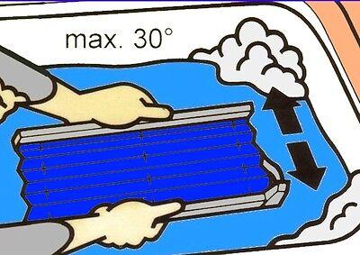 """PLISSEE JDL """"Nizza"""" Sichtschutz Hitzeschutz für Skylight Premium Dachfenster"""