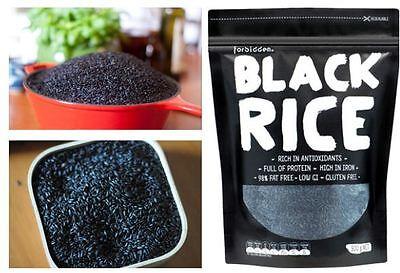 2.5kg FORBIDDEN Black Rice ( Gluten Free - Low GI ) An Everyday Superfood 4