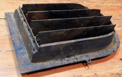 Antique Cast Iron Floral Grate - Vent AWESOME - Tombstone 4