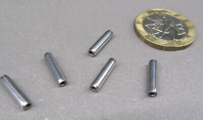 """420 Stainless Steel Coiled Spring Pin, 7/64"""" Dia x 1/2"""" Length, 25 pcs 6"""