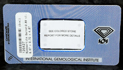 Loose Gemstone - Spessartite Garnet 2.89ct 9