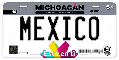 Michoacan Mexico Any Text Personalized Novelty Auto Car License Plate C04 2