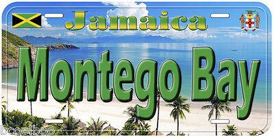 Ochos Rios Jamaica Aluminum Auto Tag Novelty License Plate