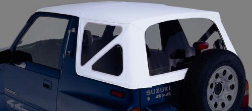 Ersatzverdeck Weiss Suzuki Vitara 88 04 Softtop Verdeck Top Cabrioverdeck