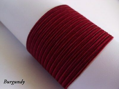 Soutache Braid Cord 6 colours x 1, 2 or 5 metres Shades of pink 100% viscose 3mm 6