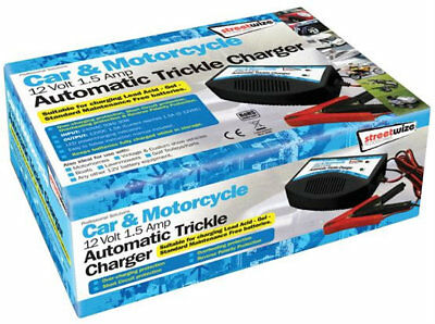 Caravan motorhome 12v battery trickle charger AUTOMATIC cut out LEAVE ON leisure 2