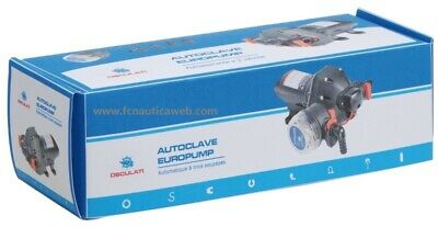 Autoclave con filtro EUROPUMP 12v mod. 3 valcole OSCULATI 16.510.12 11LT/MIN 2