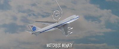 Pan Am American Boeing 747-200 Custom Christmas Ornament Airplane Plane Jet