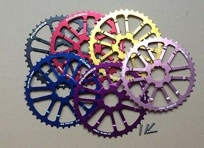 Sram FOURIERS CNC 40T Teeth Cog Cassette Sprocket for 10s Shimano Deore XT XTR