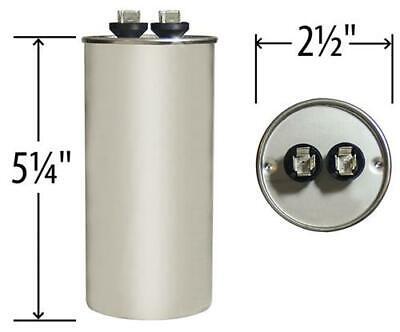 Lennox Ducane Replacement 70//10 uf MFD x 370 VAC # 27L414 Genteq GE Capacitor