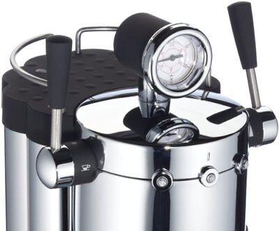ARIETE 1387 CAFFE NOVECENTO Macchina Caffè Espresso Cromata Interamente Metallo 5