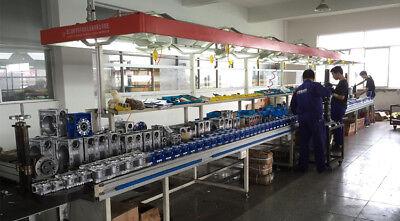 Worm Gear Reducer NMRV040 NEMA34 Input 14mm Ratio 15 25 40 50 80:1 Stepper Motor 9