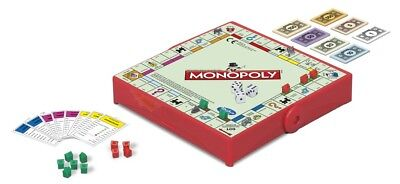 Hasbro Family Gaming Grab And Go Monopoly TRAVEL Game 2