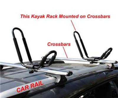 Universal Car SUV VAN Top J-Bar Mount Canoe Kayak  Rack Carrier Roof Rack 3